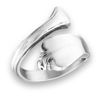 Stainless Steel Classic Spoon Ring Face Height: 18 mm (0.71 inch ) Metal Material: Stainless Steel Available Sizes 7-10