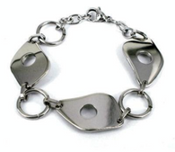 Stainless steel Abstract design Bracelet