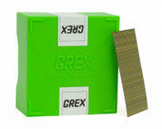 "Grex 23 Gauge Headless Micro Pins P6/30L 1-3/16"" Inch 10,000 Per Box"