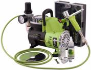 Grex Airbrush,  GCK01,  Airbrush Combo Kit, Genesis.XT Airbrush AC1810-A Compressor
