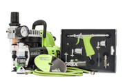 Grex GCK02 Tritium.TS Airbrush Combo Kit with AC1810-A Quiet Mini Compressor (660292120291)
