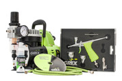 Grex GCK03 Tritium.TG Airbrush Combo Kit TG3 Airbrush w/ AC1810-A Compressor