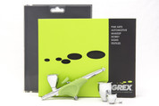 Grex Airbrush Genesis XGi2 Double Action Airbrush Top Gravity 0.2mm Nozzle