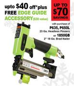 "Grex 18 Gauge 2"" Brad Nailer - Green Buddy - 1850GB.H1"