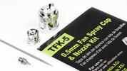 Grex 0.5mm Fan Spray Cap & Nozzle Kit - TFK-5
