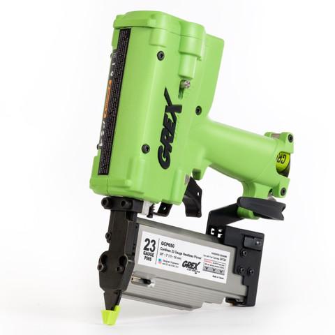 "Grex 2"" 23 Gauge Cordless Pinner Nailer - PC650 WWW.JEWELCITYTOOLS.COM"