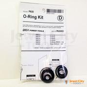 Grex P630 Pinner Nailer OEM Original O-Ring Kit--Part # P630KD (660292130207)