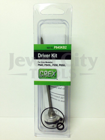 Grex H850LX Pinner Nailer OEM Original Driver & Maintenance Kit w/ Bumper--Part # H850LXKB