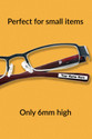 At only 6mm high, they fit perfectly on reading glasses!  Long lasting stickers for your glasses.