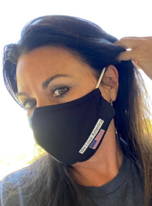 Nano Tech Masks are not suggested for highly infectious places...i.e. hospitals, but great for general use.  Wash with soap and water daily.  Slips easily over your ear.  Soft too!