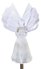 Solar Wholesale 1033 Solar Angel Garden Stake Light w./ Color Change LED and Fiber Optic Wing