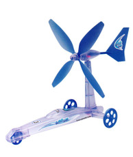 Renewable Energy Wind Turbine Car Educational Kit, New Concept