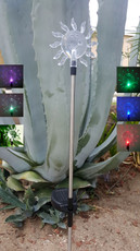 A Pack of Two Sun Solar LED Garden Lights