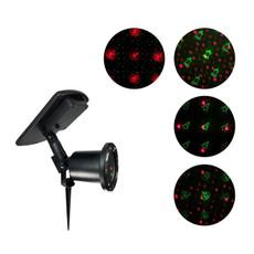 8023 Solar Laser Light 4 Christmas Patterns