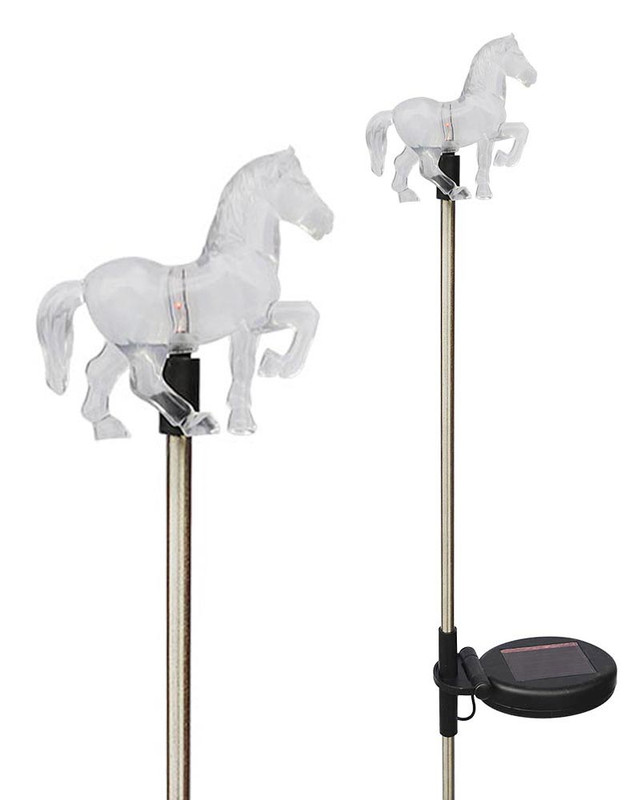 Solar Wholesale 1050-2 A Pack of Two Horse Lights