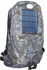 Solar Backpack and Cell Phone Charger, Camouflage