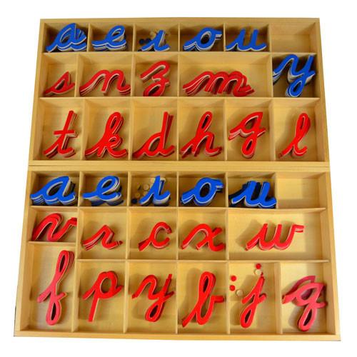 Large Movable Alphabet - cursive