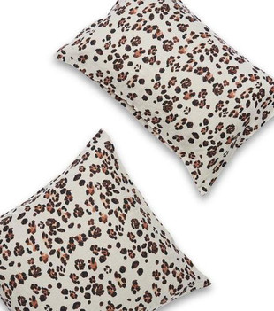 STANDARD PILLOWCASE SET - LEOPARD