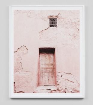 PINK DOOR 1 - WHITE FRAME