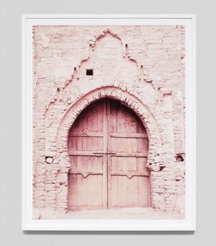 PINK DOOR 4 - WHITE FRAME