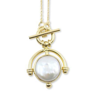 LOST PEARL GOLD NECKLACE