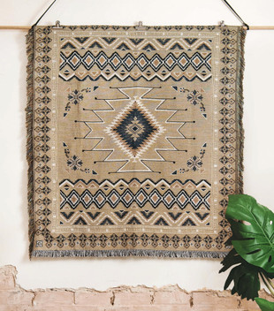 'HEY JUDE' WOVEN PICNIC RUG AND THROW