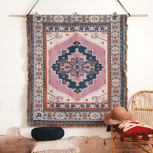 STRAWBERRY FIELDS WOVEN PICNIC RUG