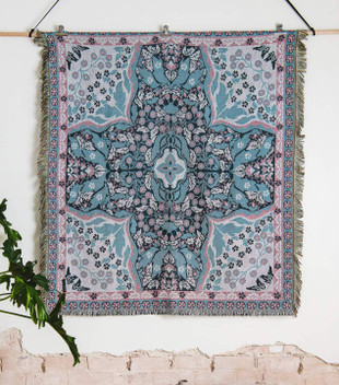 'ALL YOU NEED IS LOVE' WOVEN PICNIC RUG - REG