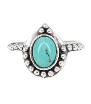 SOLACE TURQOUISE RING