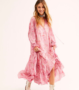 FEELING GROOVY MAXI - SUMMERTIME PINK