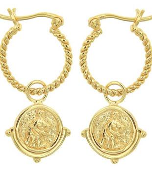 SALACIA EARRINGS - GOLD