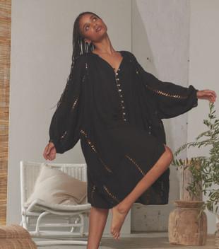 TRIGGER DRESS - BLACK