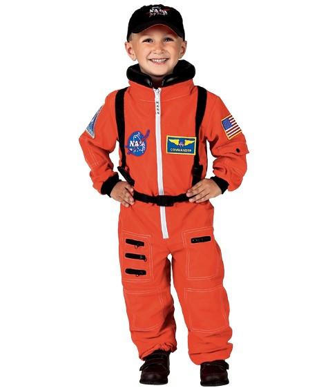 Orange Jr. Astronaut Costume