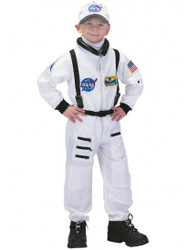 White Astronaut Costume - Child 2-8