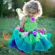 Deluxe Green Fairy Blooms Costume - Child