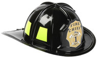 Black Jr. Firefighter Helmet