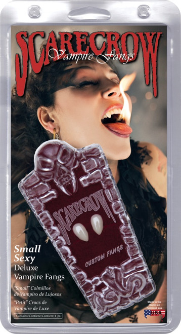 Deluxe Small Vampire Fangs