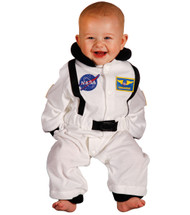 White Astronaut Costume - 6-12 Months