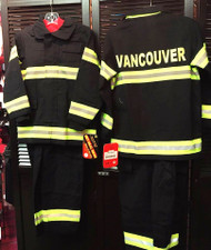 Black Vancouver Firefighter Costume