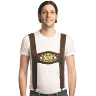 Clip-On Lederhosen Suspenders