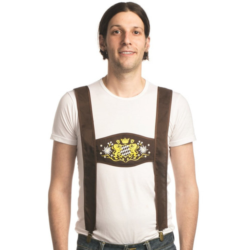 Clip-On Lederhosen Suspenders
