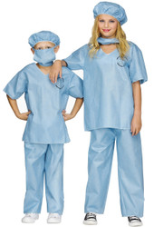 Child Scrubs Costume