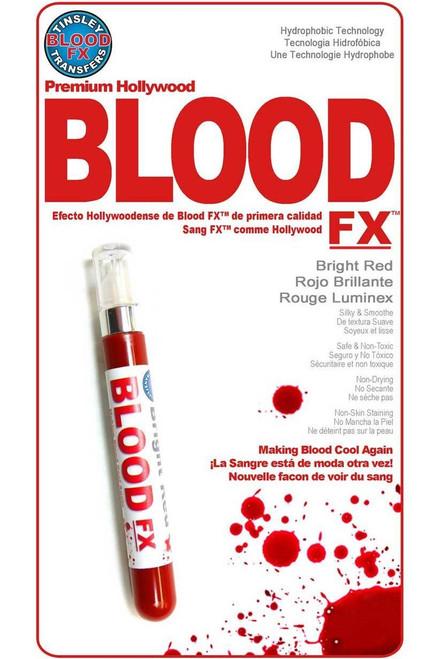 Hydrophobic Bright Red Blood