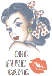 1940s One Fine Dame Tattoo