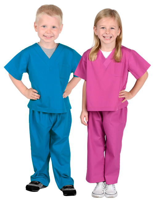 Dr Scrubs available in blue only