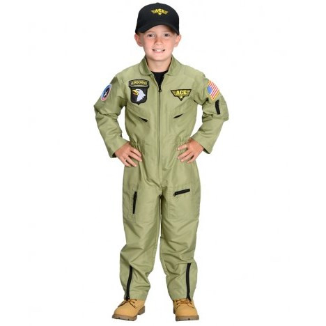 Youth Fighter Pilot Costume