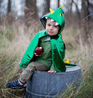 Toddler Dragon Cape - Front