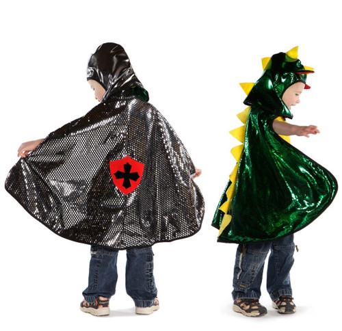 Reversible Dragon/Knight Cape