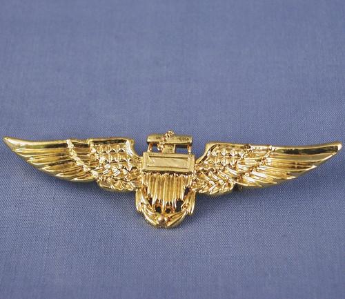 Gold Pilot Pin