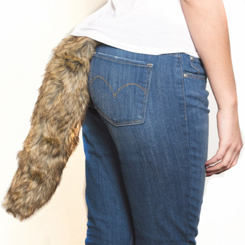 Clip-On Fox Tail